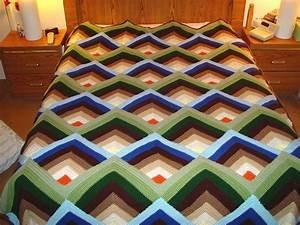 Pyramid Afghan. Amazing 3D | Crochet Blankets, Throws ...