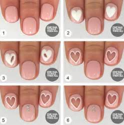 Easy step by valentine s day nail art tutorials
