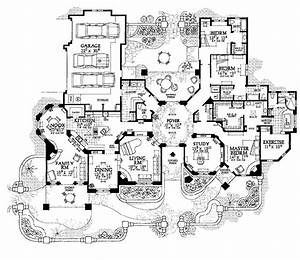 Gothic Mansion Floor Plans - AyanaHouse