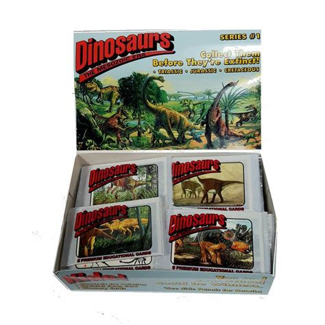 Maybe you would like to learn more about one of these? Buy Dinosaurs (8-Pack) Educational Trading Cards - Only 50 Cents/Pack Cheap | H&J Liquidators ...