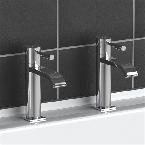 Modern Bathroom Sink Taps by Modern Chrome Plated Brass Monobloc Sink Bathroom Filler