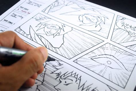 panel manga  steps  pictures wikihow