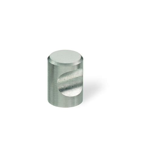 kitchen cabinets pulls 3184 series 3 4 in brushed stainless steel cabinet knob 3184