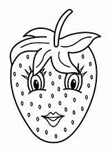 Coloring Pages Printable Fruits Fruit Vegetable Sheets Vegetables Frutas Procoloring sketch template