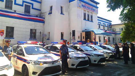 Manila Cops Get 15 New Patrol Cars