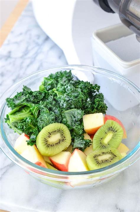 juice kale kiwi refresher recipes recipe apple
