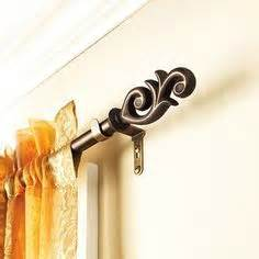 twist and fit curtain rod target better homes and gardens open filigree 3 4 quot decorative