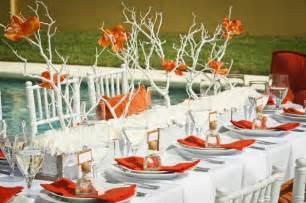 from kente to palettes orange and white wedding inspiration i do