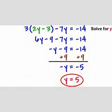 Solving By Substitution 2 Coolmathcom