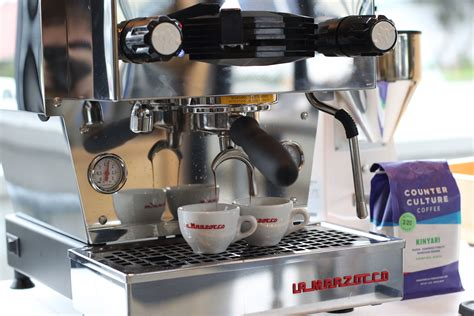 You can also buy their coffee beans for use at home. 7 Reasons Having Your Own Espresso Machine Is Awesome   La Marzocco
