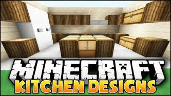 minecraft nice kitchen designs ideas youtube