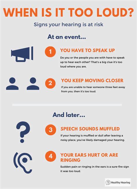 How loud is too loud? How many decibels is too loud?