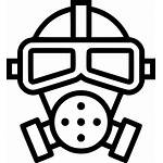 Mask Gas Clipart Poison Toxic Icon Svg