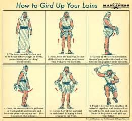 gird up your loins an illustrated guide the art of