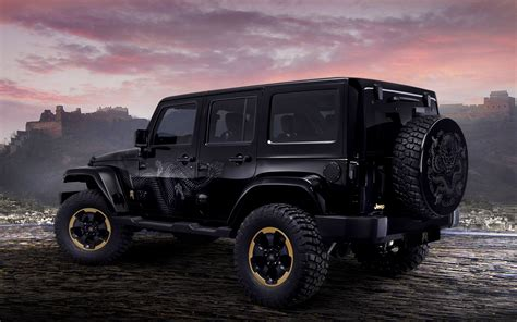 Jeep Wrangler-dragon Design Hd Wallpaper