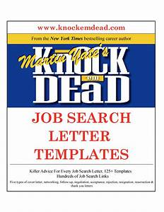 Knock em dead job search letter templates for Knock em dead cover letters pdf
