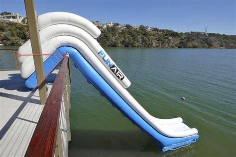 outdoor slide set water slide for yachts