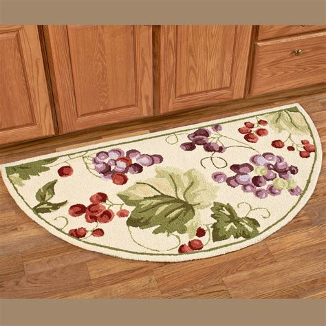 country kitchen rugs vintage harvest grapes area rugs 3624