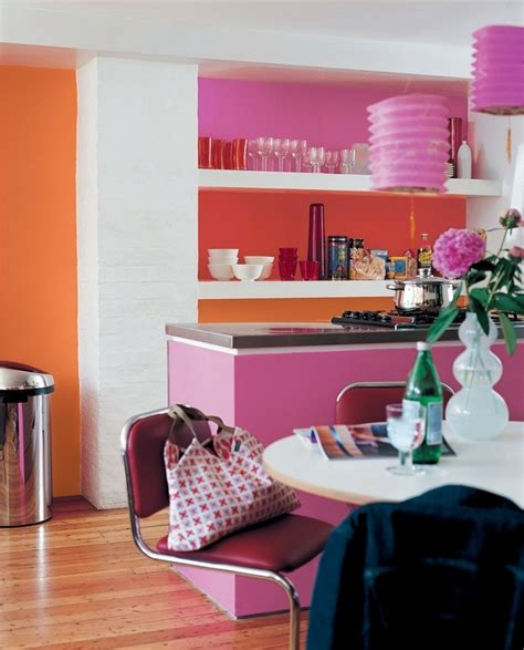 bold kitchen colors bright bold contrasting colours will give a kitchen a 1758