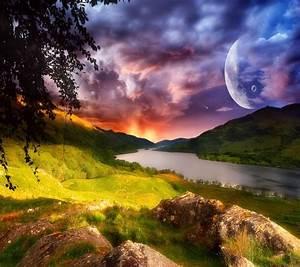 Beautiful alien Landscape | Alien Landscapes I Could Live ...