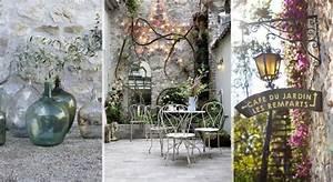 campagne decoration le journal de la maison With exceptional idee deco terrasse jardin 12 ambiance campagne chic maison and deco