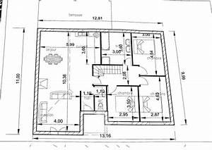 projet maison rdc etage terrain achete 18 messages With nice plan de maison a etage 8 plan dimplantation de la maison sur le terrain