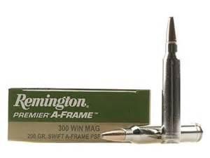 Remington Premier Ammo 300 Winchester Mag 200 Grain Swift