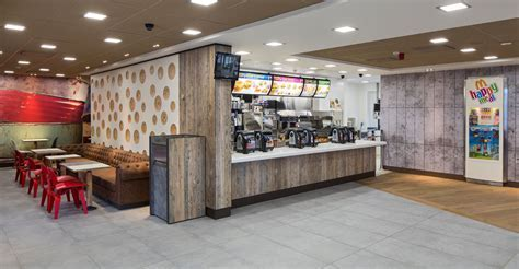 Marcon Fit Out   McDonald's makeover in Clifton Moor, York