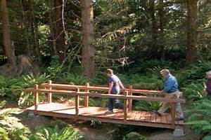 How to Build a Wooden Foot Bridge • DIY Projects & Videos