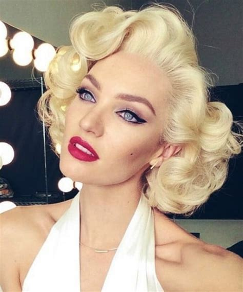 """Marilyn Monroe """"How to get her iconic hairstyle""""   Iles"""