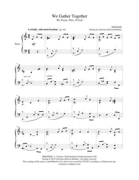 Permalink to Thanksgiving Sheet Music George Winston