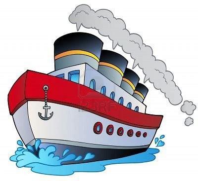 Barcos De Vapor Animados by 8475504 Dibujos Animados Gran Barco De Vapor Ilustracion