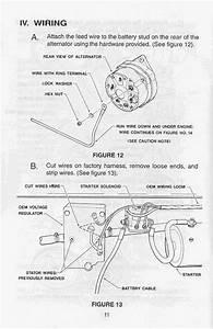 470 Mercruiser Installion Conversion Alternator Kit