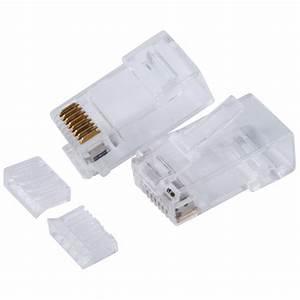 China Utp Rj45 Plug Two Types