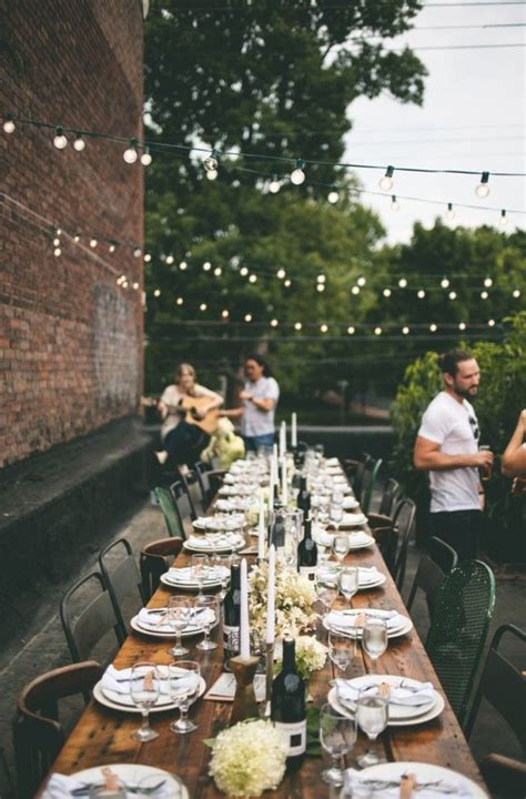 Amazing Outdoor Dinner Party Inspiration Lovely