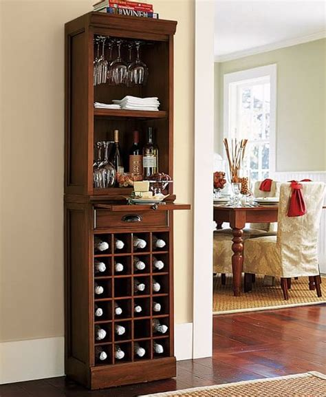 pottery barn coffee mini bar furniture for stylish entertainment areas