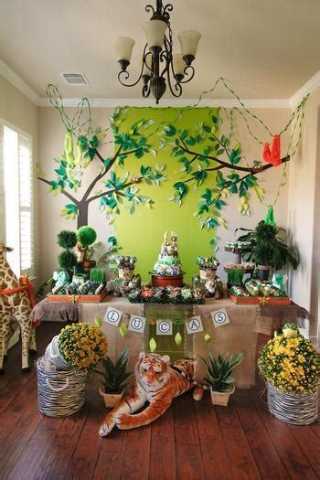 19 Jungle Safari Themed Boy Party Ideas  Spaceships And