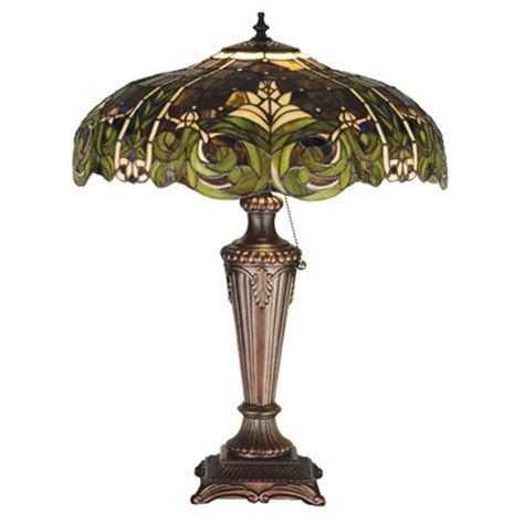 meyda  tiffany bavarian table lamp