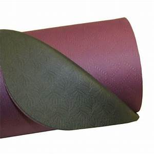 Yoga mad tapis yoga evolution 4mm aubergine gris tapis for Tapis yoga avec canape angle toulouse