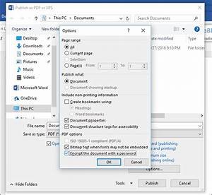 how to password protect documents and pdfs with microsoft With pdf document lock