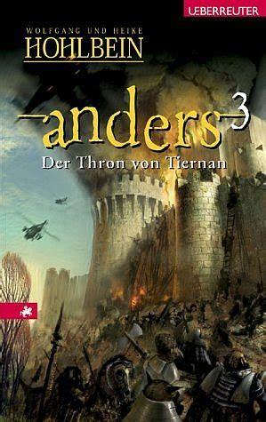 """Isbn 3800050889 """"anders 3  Der Thron Von Tiernan"""" Neu"""