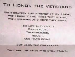 Inspirational Veterans Day Poems