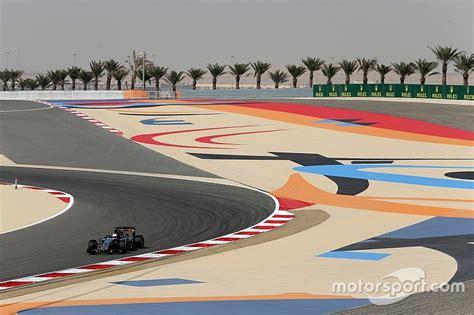 Timetable of the 2016 Bahrain Grand Prix