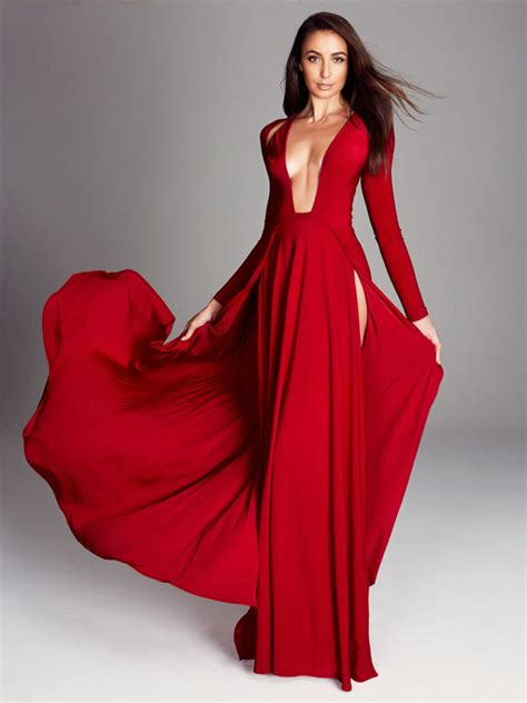 Lady In Red Dress  Cocktail Dresses 2016
