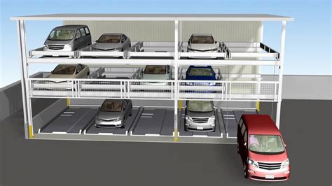 Multi Level Mechanical Car Parking