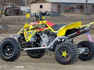 New Front /& Rear Brake Pads For SUZUKI  Quadracer 450 LTR450 LTR450Z 2006-09