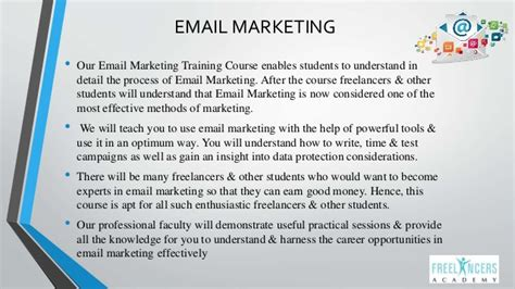 email marketing course integrated digital marketing course