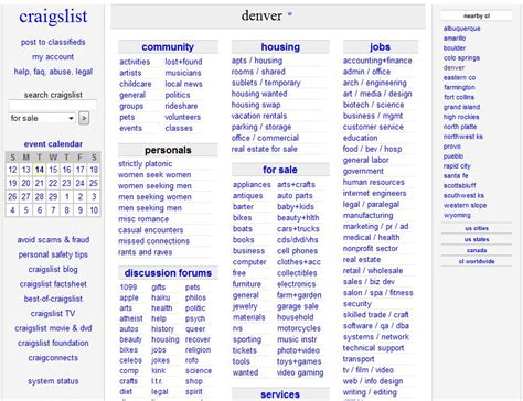 Angry Denver Craigslist Post Beginners Guide For New