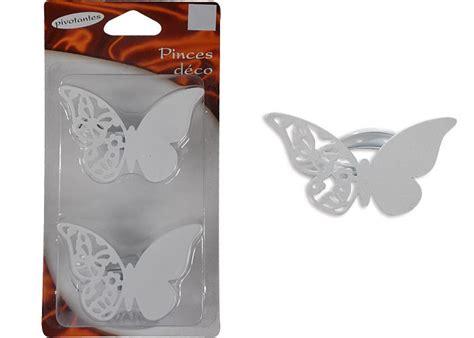 lot de  pinces  rideau forme papillon pince rideau