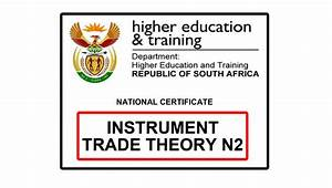 Instrument Trade Theory N2 Previous Papers With Memos